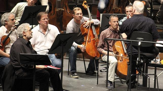 Plácido Domingo y Daniel Barenboim, un mano a mano musical por la paz