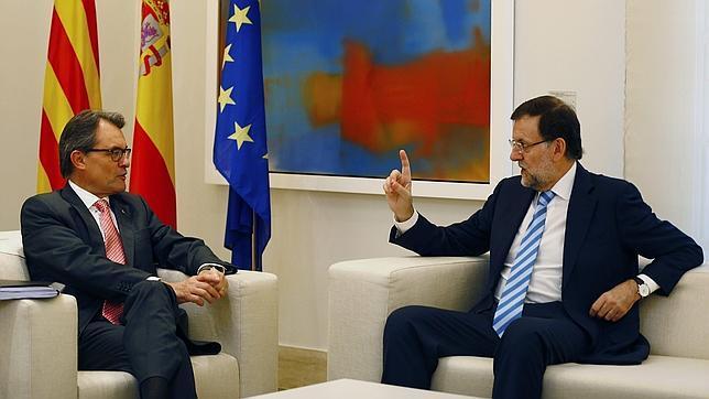 Rajoy, a Mas: «La consulta es ilegal y ni se puede ni se va a celebrar»