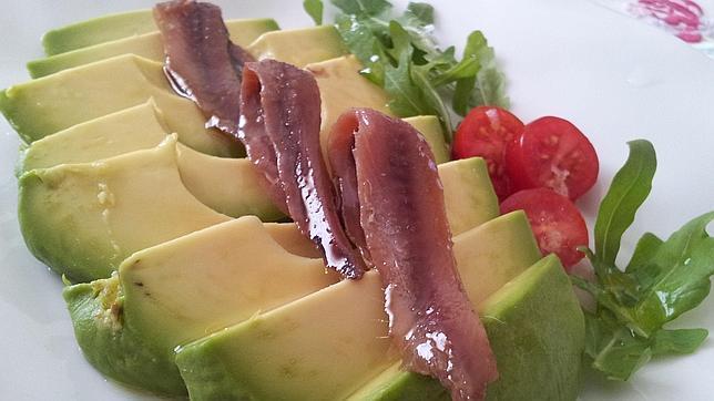 Anvhoas, el plato de hoy