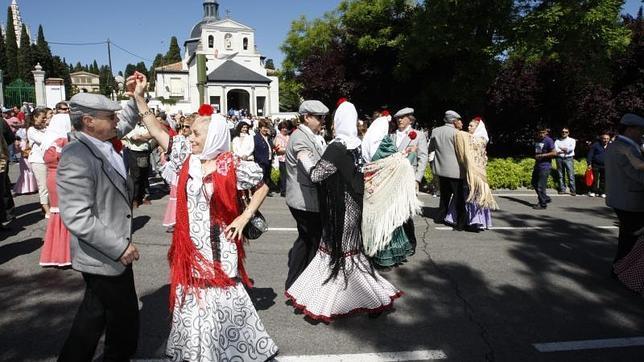Fiesta de San Isidro en la Pradera y la Ermita del Santo