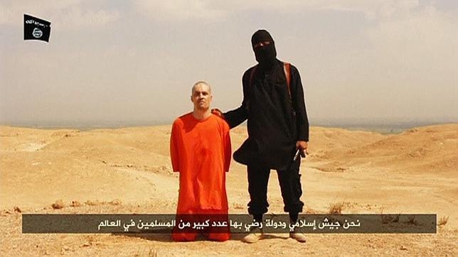 Captura del vídeo publicado en la red por los yihadistas