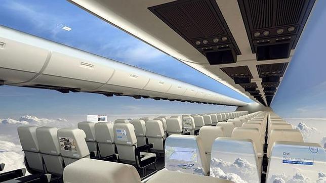 Simulación de las cabinas con el nuevo sistema propuesto por los investigadores británicos