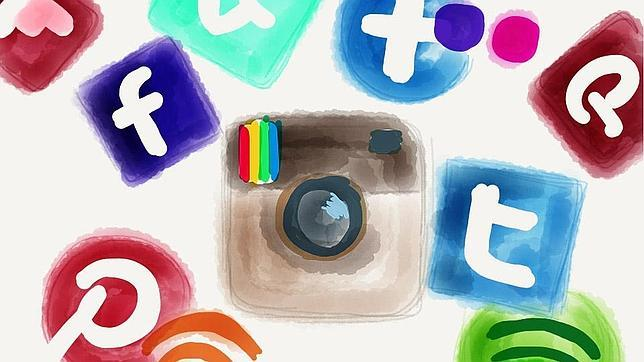 Logos de redes sociales y apliaciones