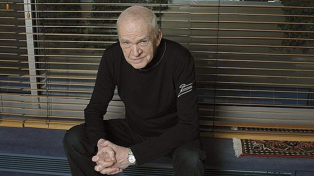 El escritor Milan Kundera, en una imagen reciente