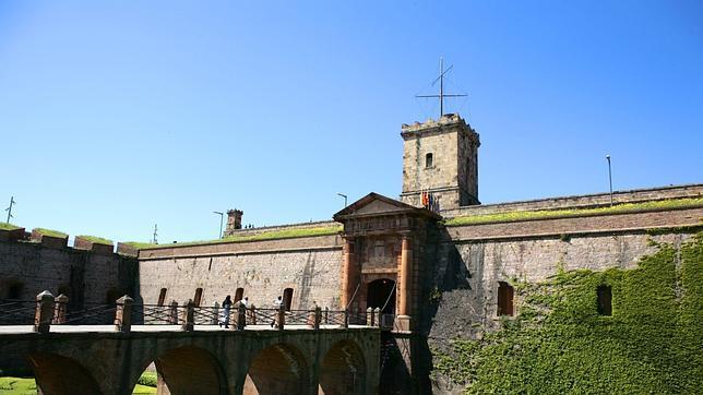 El castillo de Montjuic en Cataluña