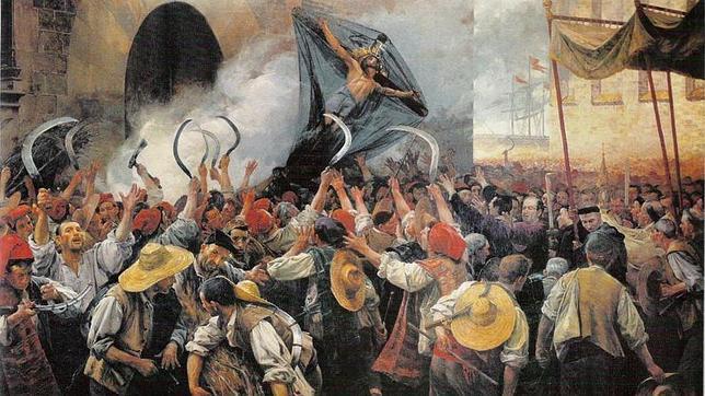 «El Corpus de Sangre», de Antoni Estruch (1907).