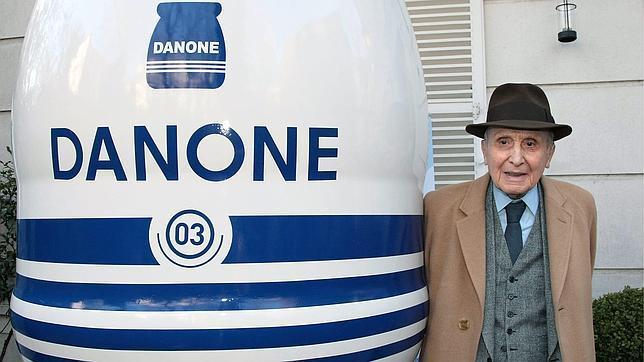 Daniel Carasso, el ya fallecido hijo del fundador Danone