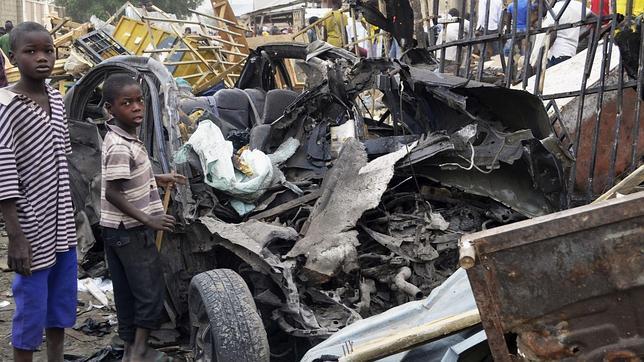 Atentado de Boko Haram en Maiduguri