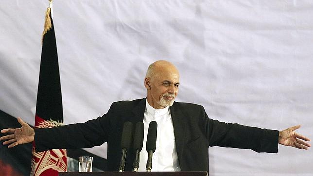 El presidente electo de Afganistán, Ashraf Gani