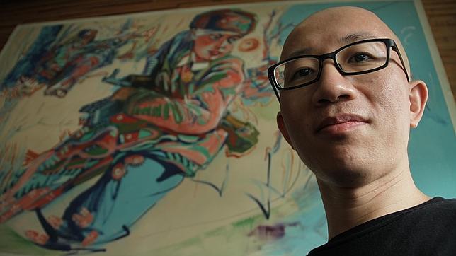 Hu Jia pasó tres años y medio en prisión y vive bajo estrecha vigilancia de la Policía china