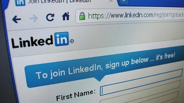 Portal de acceso a LinkedIn