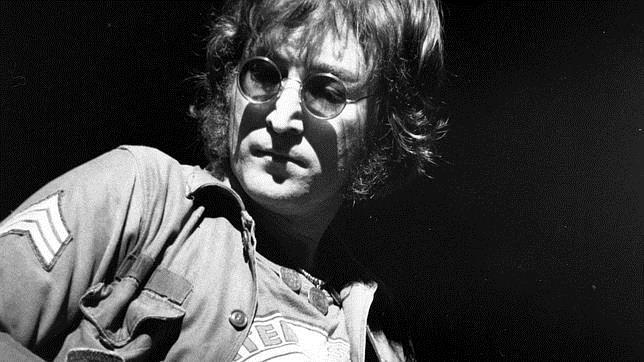 Lennon, en un concierto en el Madison Square Garden de Nueva York