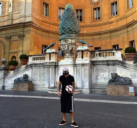 Justin Bieber en el Vaticano