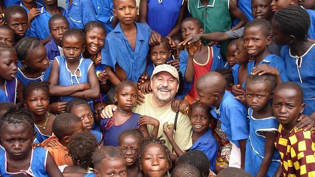 El padre José Luis Garayoa, misionero de la orden los Agustinos Recoletos en Sierra Leona