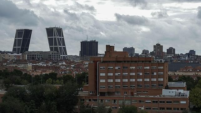 Vista del Hospital Carlos III, en Madrid