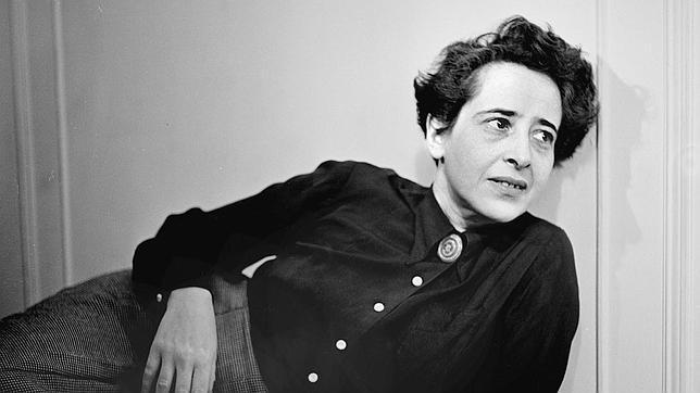 La filósofa y pensadora Hannah Arendt