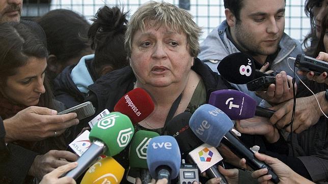 María Teresa Mesa Escolano ejerce de portavoz de la familia Limón Romero desde el pasado domingo 12 de octubre