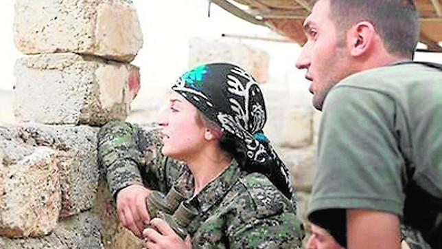 Narin Afrin, la miliciana kurda que hace frente al terrorismo ...