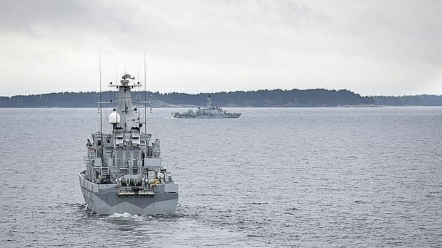 La Marina sueca rastrea la costa en busca de un submarino extranjero
