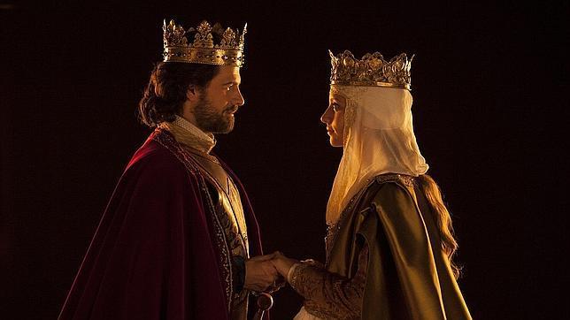 Isabel y Fernando, en la popular serie de TV «Isabel»