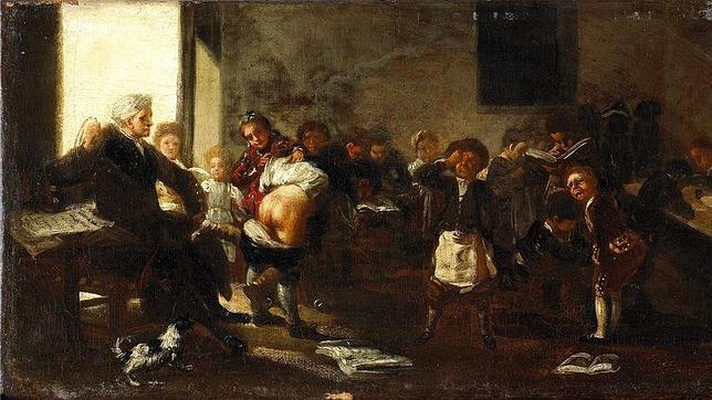 Escena de «La letra con sangre entra», uno de los Goyas cuya compra investiga la Justicia