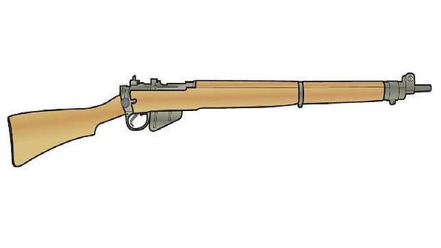El rifle de cerrojo por antonomasia del Imperio Británico, el Lee-Enfield