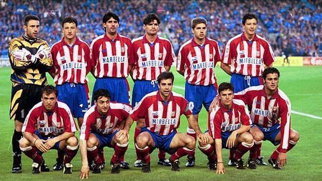 El Atlético del doblete, que en la temporada 1995-96 ganó la Liga y la Copa