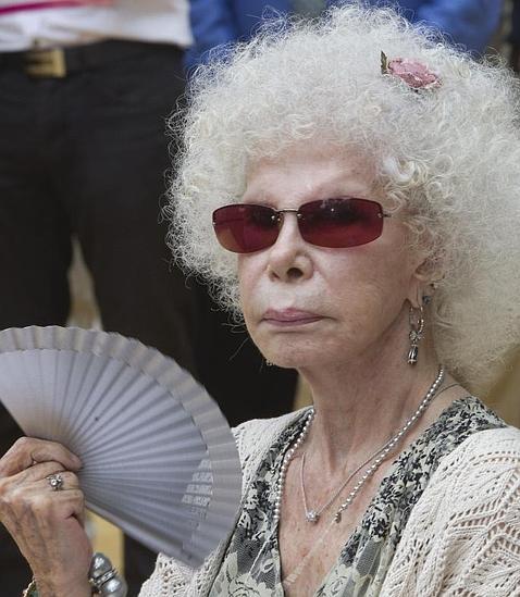 La duquesa de Alba en una foto de archivo