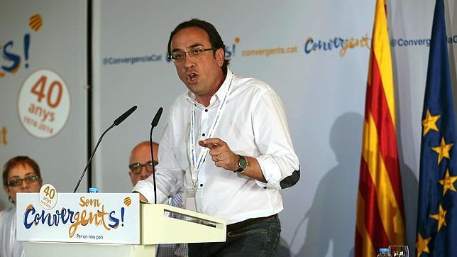 El coordinador general de CDC, Josep Rull