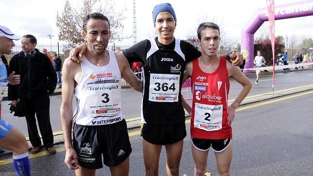 Los tres ganadores de Legua «Julio Rey»