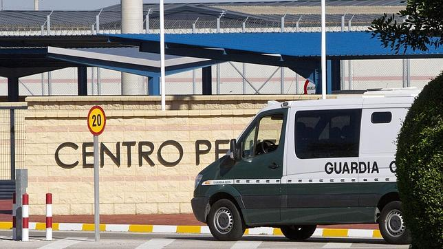 Entrada de la prisión de Puerto III en la localidad gaditana de El Puerto de Santa María