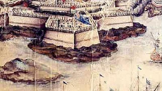 Ataque de la flota francesa al fuerte de San Felipe