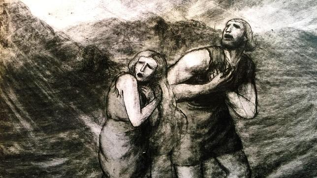 El Paraíso perdido» de Milton, en el pincel