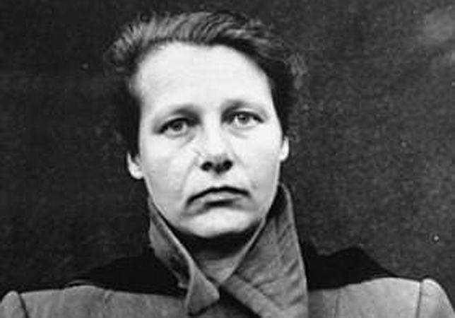 La doctora Herta Oberheuser, famosa por su ligereza a la hora de repartir inyecciones letales entre los presos