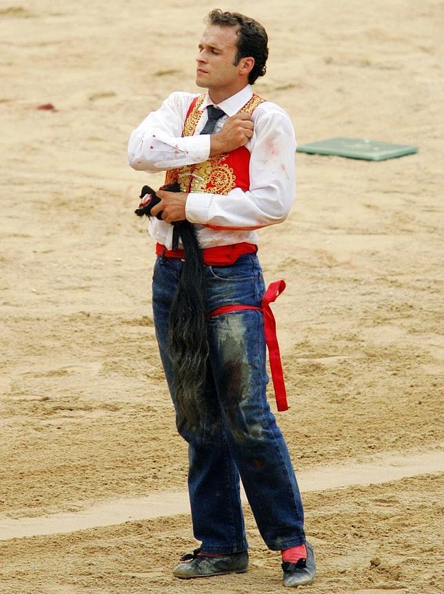 Antonio Ferrera es el torero más castigado por los toros de la actualidad