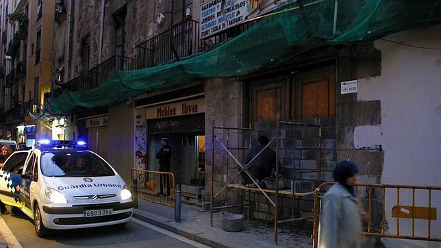 Imagen del lugar en el que resultó herido el 4 de febrero de 2006