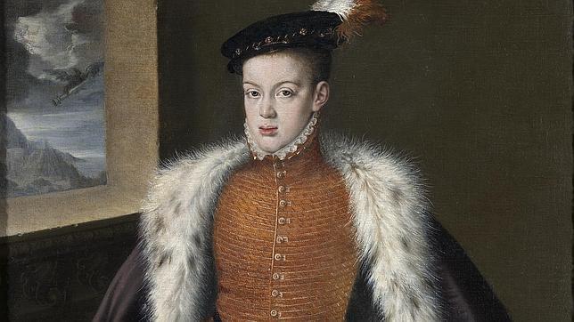 Retrato del Príncipe de Asturias por Alonso Sánchez Coello