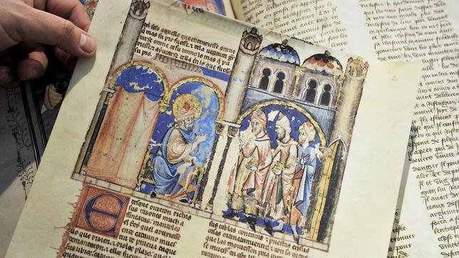 Edición facsímil de un manuscrito del rey Alfonso X El Sabio