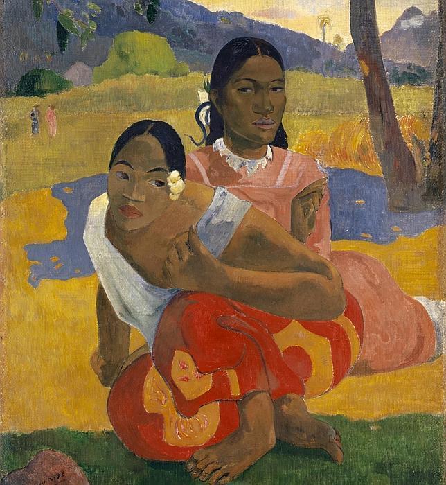 «Nafea Faa Ipoipo» («¿Cuándo te casarás?»), de Paul Gauguin