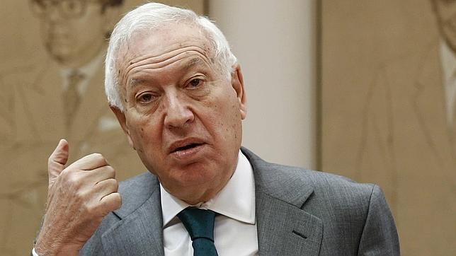 José Manuel García-Margallo, ministro de Exteriores