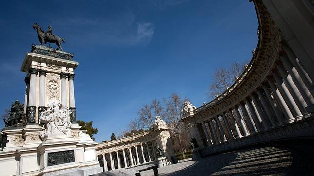 Monumento a Alfonso XII en el Parque de El Retiro.