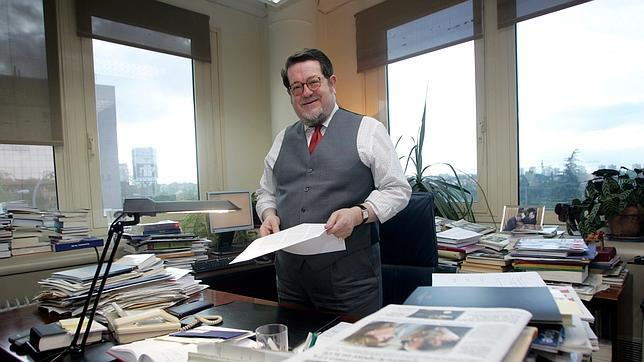 Santiago Castelo, en su despacho de ABC