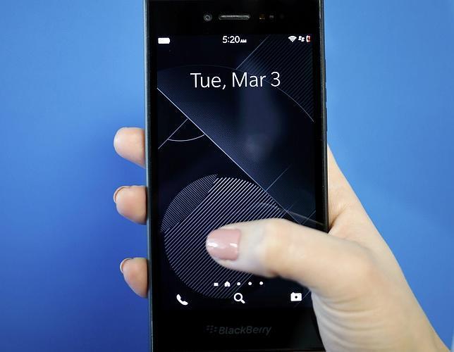En la imagen el Blackberry Leap