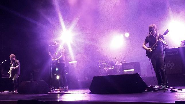 Supersubmarina en concierto en Guadalajara