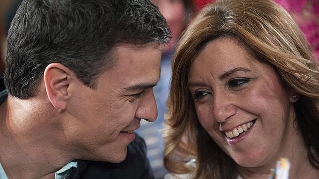 Pedro Sánchez y Susana Díaz, en una imagen de archivo