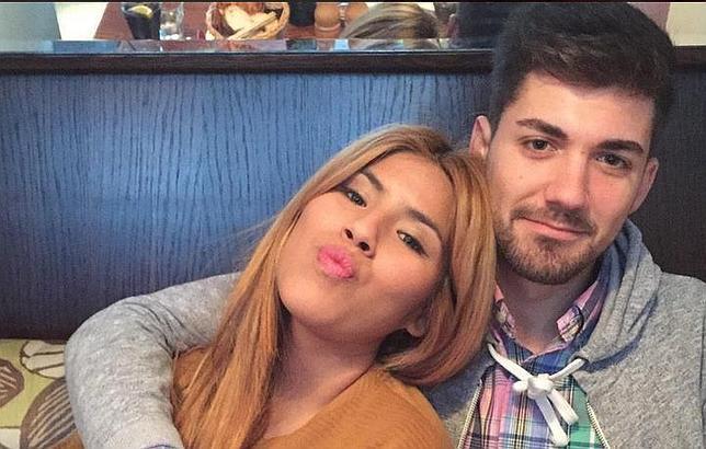 Chabelita Pantoja y Alejandro Albalá en una imagen de archivo