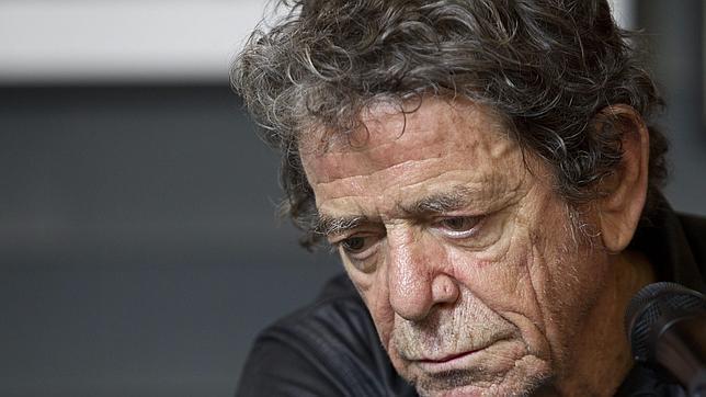 Lou Reed, durante su última visita a Madrid en 2012