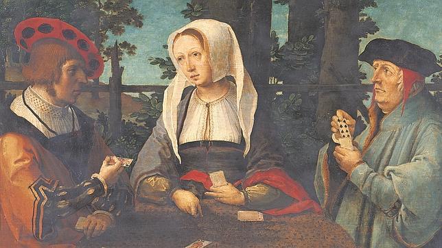 «Los jugadores de cartas» (1520), de Lucas van Leyden