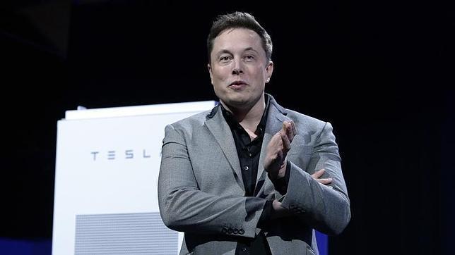 Elon Musk, CEO de Tesla, durante la presentación de la nueva batería para el hogar