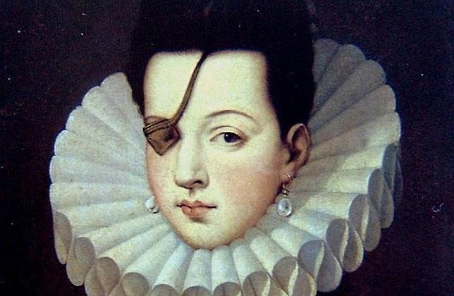 Retrato de la Princesa de Éboli, Ana de Mendoza de la Cerda
